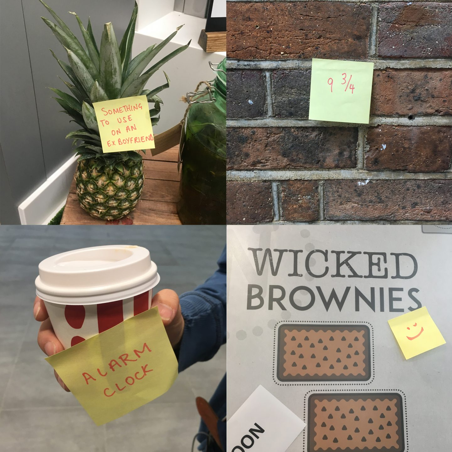 Why Are You Putting A Post It On Pineapple Tea And Pencil Tendencies Kaos Always 420 Putih M Memes